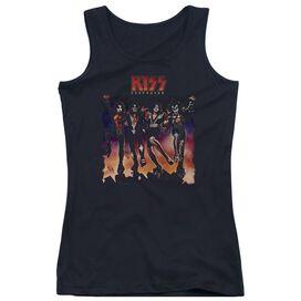 Kiss Destroyer Cover - Juniors Tank Top