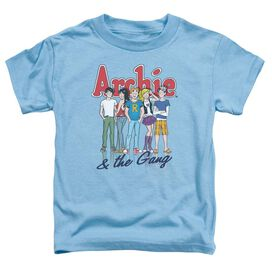 ARCHIE COMICS AND THE GANG - S/S TODDLER TEE - CAROLINA BLUE - T-Shirt