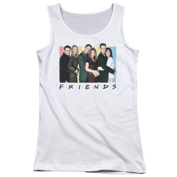 Friends Cast Logo Juniors Tank Top