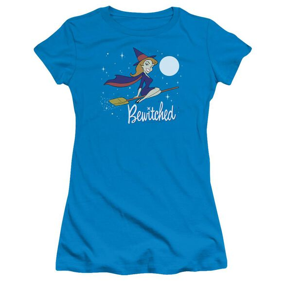 Bewitched Moonlight Hbo Short Sleeve Junior Sheer T-Shirt