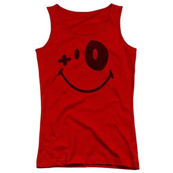 Smiley World Fight Club Juniors Tank Top