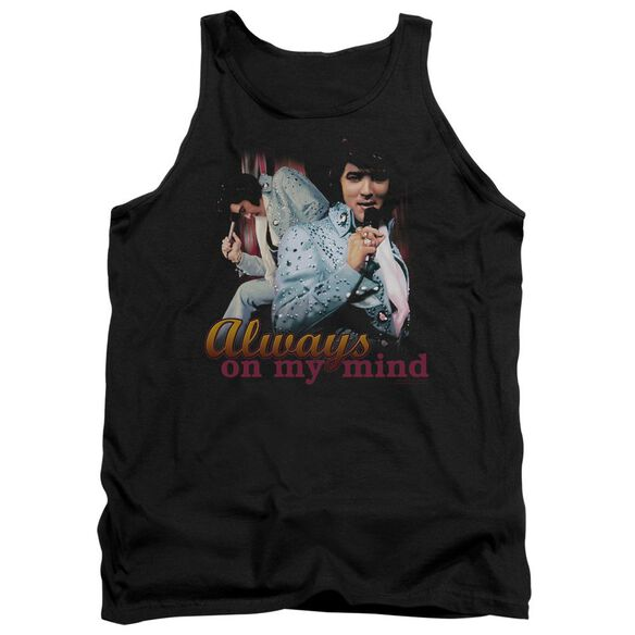 Elvis Always On My Mind Adult Tank