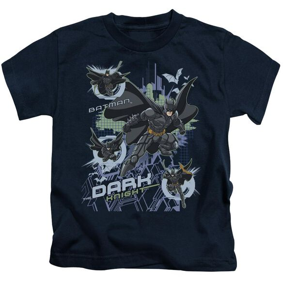 Dark Knight Attack From All Sides Short Sleeve Juvenile T-Shirt