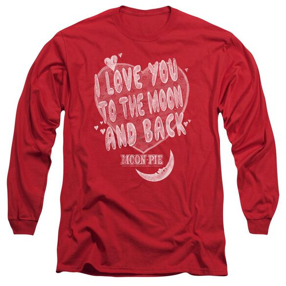 Moon Pie I Love You Long Sleeve Adult T-Shirt