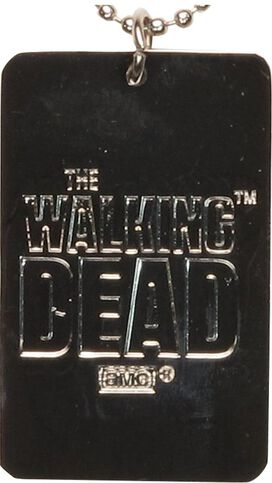 Walking Dead Beware of Biters Dog Tag