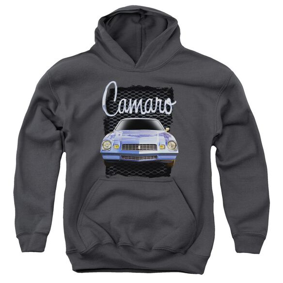 Chevrolet Yellow Camaro Youth Pull Over Hoodie
