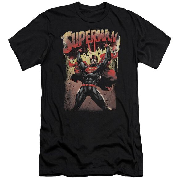 Superman Lift Up Premuim Canvas Adult Slim Fit