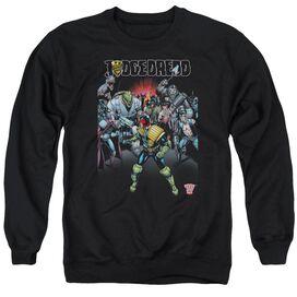 Judge Dredd Behind You Adult Crewneck Sweatshirt