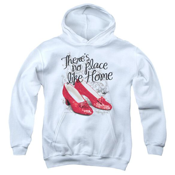 Wizard Of Oz Ruby Slippers Youth Pull Over Hoodie