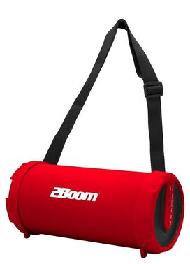 2Boom - Cyclone Portable Bluetooth Speaker [Red]