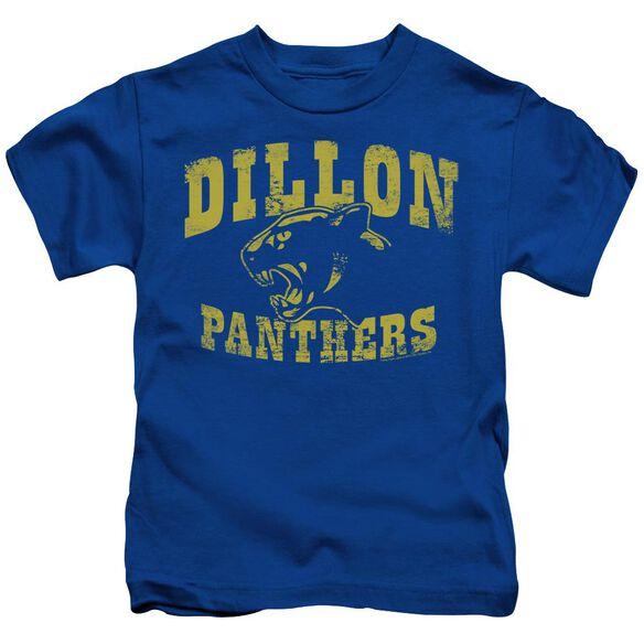 Friday Night Lights Panthers Short Sleeve Juvenile Royal Blue Royal Blue T-Shirt