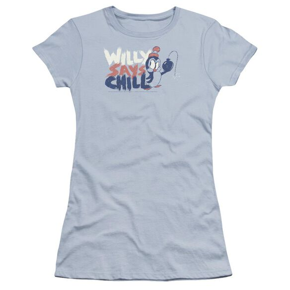 Chilly Willy I Say Chill Premium Bella Junior Sheer Jersey Light