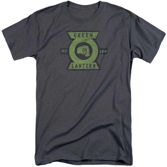 Green Lantern Section Short Sleeve Adult Tall T-Shirt