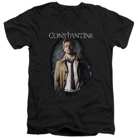 Constantine Smoker Short Sleeve Adult V Neck T-Shirt