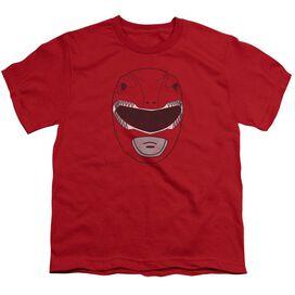Power Rangers Ranger Mask Short Sleeve Youth T-Shirt