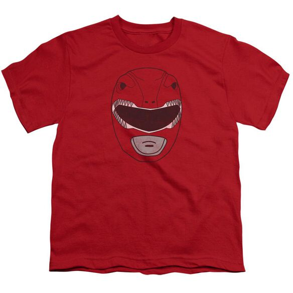 Power Rangers Ranger Mask Short Sleeve Youth T-Shirt