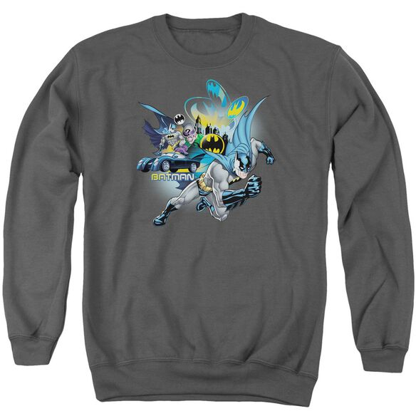 Batman Call Of Duty Adult Crewneck Sweatshirt