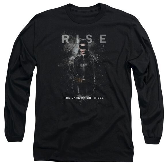 Dark Knight Rises Catwoman Rise Long Sleeve Adult T-Shirt