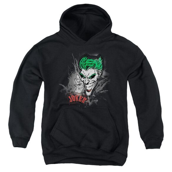 Batman Joker Sprays The City Youth Pull Over Hoodie