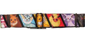 Pokemon Eevee Evolution Blocks Seatbelt Belt