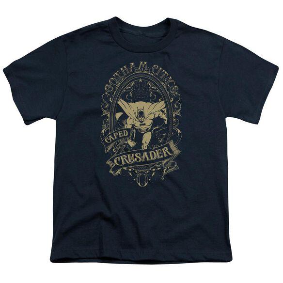 Dc Gotham Crusader Short Sleeve Youth T-Shirt