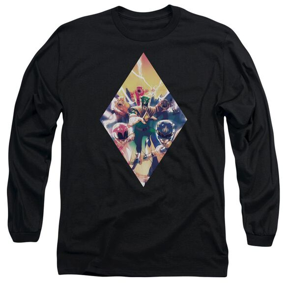Power Rangers Sdcc Ranger Diamond 1 Long Sleeve Adult T-Shirt