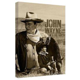 John Wayne Stoic Cowboy Quickpro Artwrap Back Board