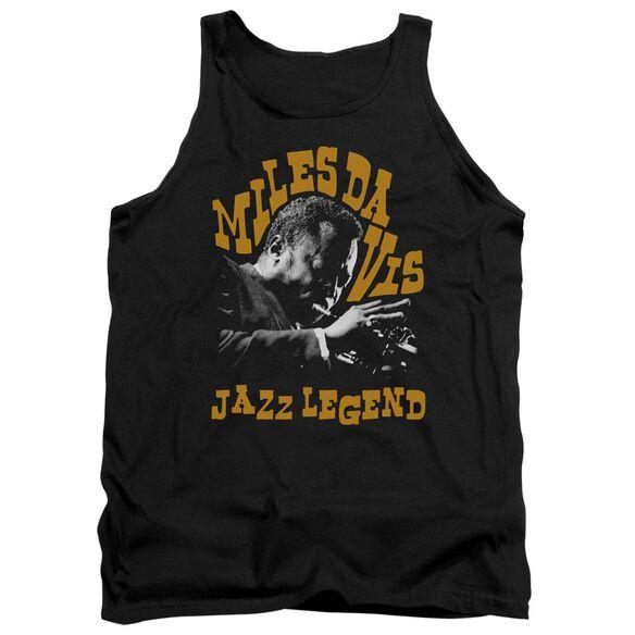Miles Davis Jazz Legend Adult Tank