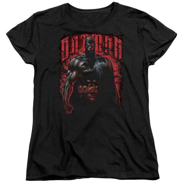 Batman Red Knight Short Sleeve Womens Tee T-Shirt