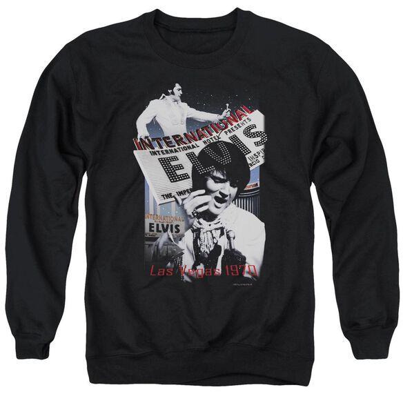 Elvis International Hotel Adult Crewneck Sweatshirt