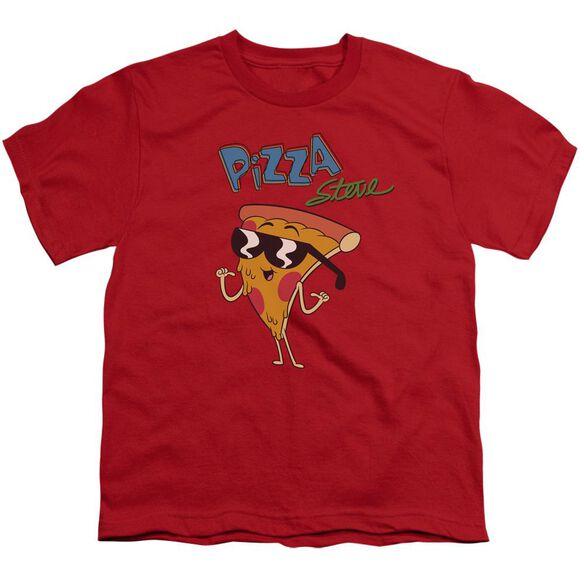 Uncle Grandpa Pizza Steve Short Sleeve Youth T-Shirt