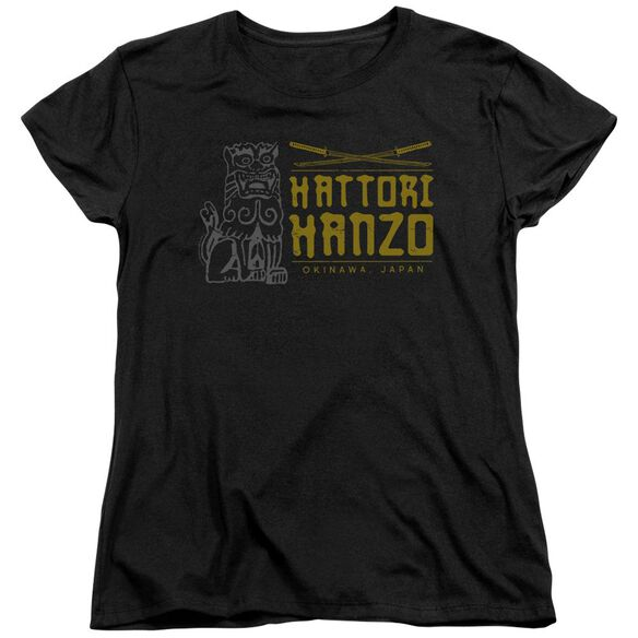 Kill Bill Hanzo Swords Short Sleeve Womens Tee T-Shirt