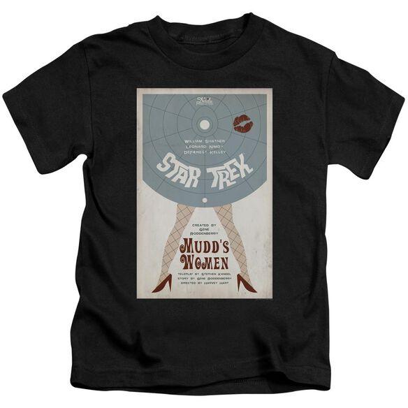 Star Trek Tos Episode 6 Short Sleeve Juvenile Black T-Shirt