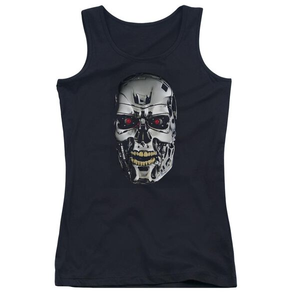Terminator Skull Juniors Tank Top