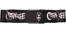 Carnage Name Face Seatbelt Belt