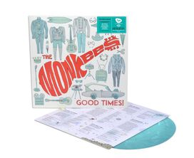 Monkees - Good Times [Exclusive Teal Blue Vinyl]
