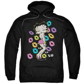 Betty Boop Tripple Xo Adult Pull Over Hoodie