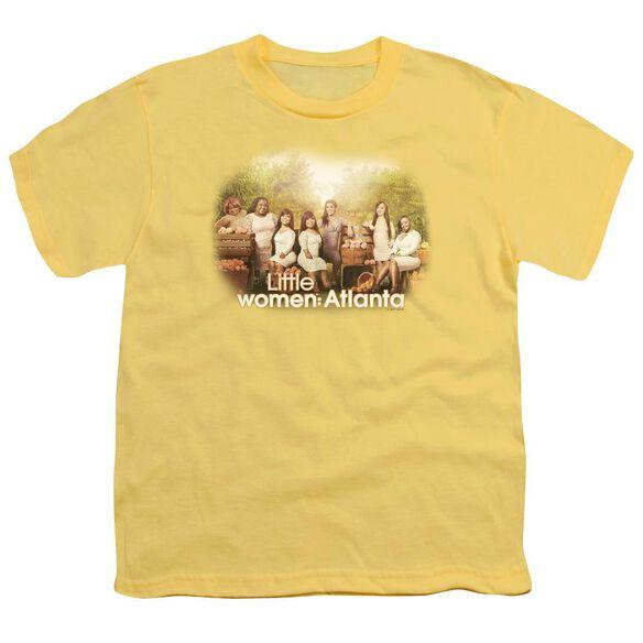 Little Women Atlanta Key Art Short Sleeve Youth T-Shirt