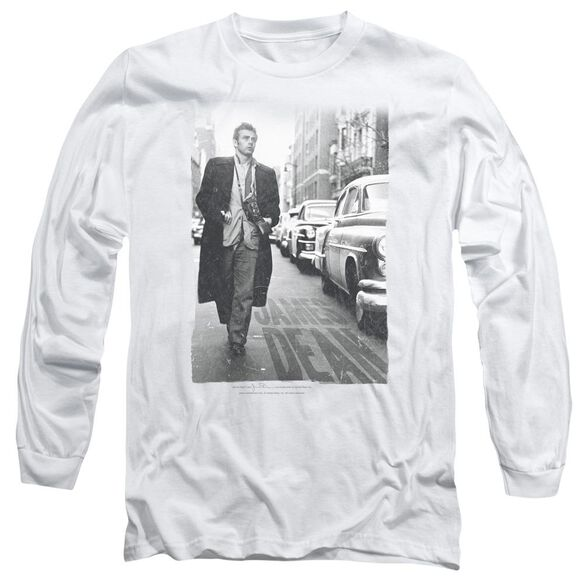 Dean On The Street Long Sleeve Adult T-Shirt