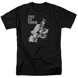 Stevie Ray Vaughan Live Alive Short Sleeve Adult T-Shirt