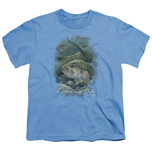 Wildlife In Deep Short Sleeve Youth T-Shirt