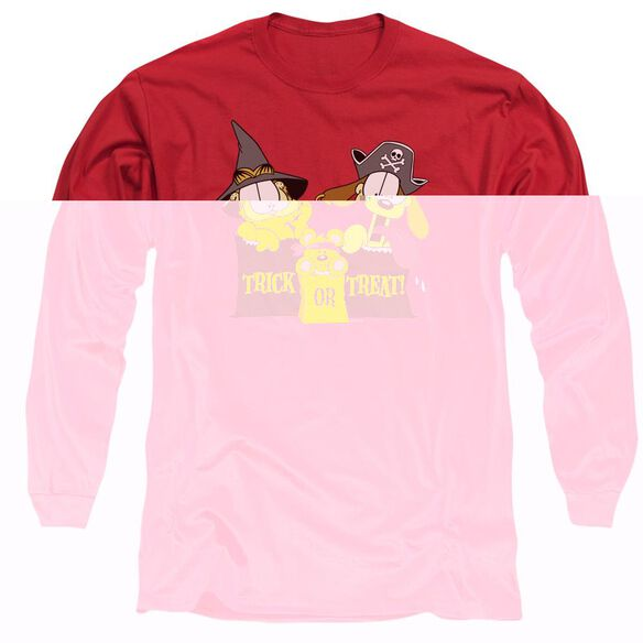 GARFIELD TRICK OR TREAT-L/S T-Shirt