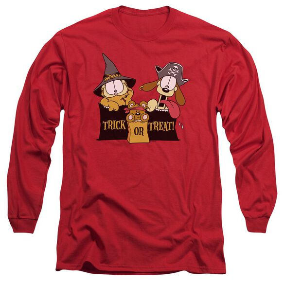 GARFIELD TRICK OR TREAT- L/S ADULT T-Shirt