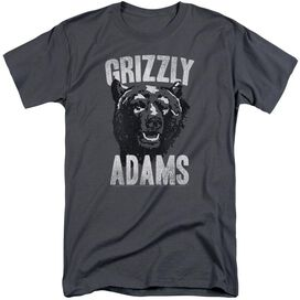 Grizzly Adams Retro Bear Short Sleeve Adult Tall T-Shirt