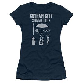 Gotham Survival Tools Short Sleeve Junior Sheer T-Shirt