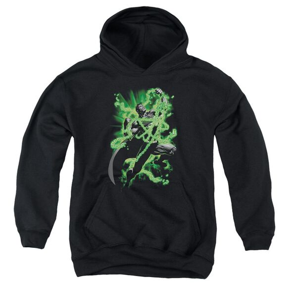Superman Kryptonite Chains Youth Pull Over Hoodie