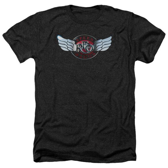 Reo Speedwagon Rendered Logo Adult Heather