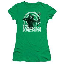 Arrow Archer Short Sleeve Junior Sheer Kelly T-Shirt