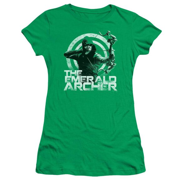 Arrow Archer Short Sleeve Junior Sheer Kelly T-Shirt