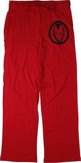 Iron Man Helmet Pajama Pants